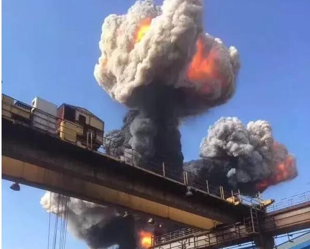 方大系钢厂高炉爆炸致1死9伤