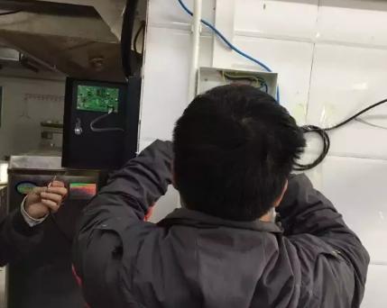火锅店安装明仕手机版客户端探测报警器项目
